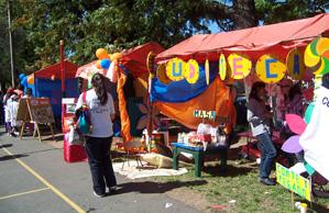 Puestos de la Feria EducaPaz.